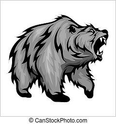 urso pardo, mascote