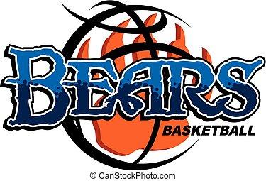 ursos, basquetebol