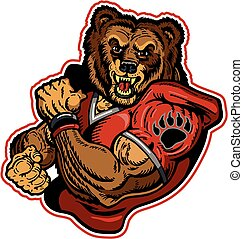 ursos, futebol
