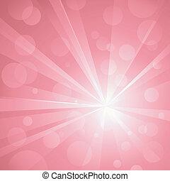 uso, pontos, explosão, linear, pink., não, sombras, abstratos, global, fundo, luz, golpear, agrupado, colors., transparencies., radial, artwork, brilhante, layered., gradients