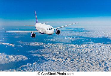 vôo, avião