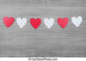 valentines, símbolos, dia