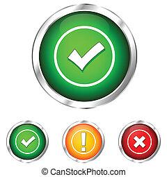 validação, ícone