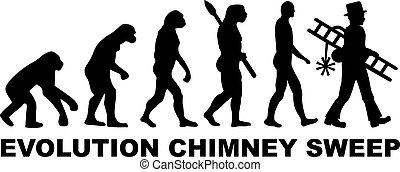 varredor, evolução, chaminé
