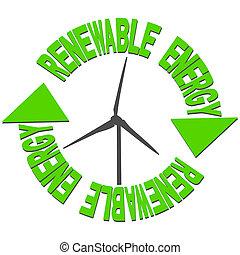 vento, texto, energia, turbina, renovável
