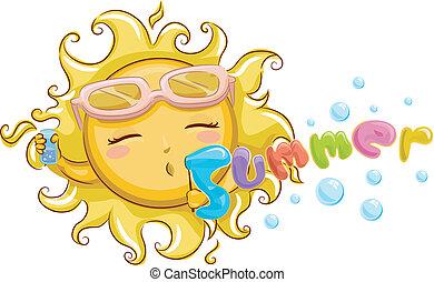 verão, mascote