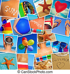 verão, myself, tiro, quadros, diferente, cenas