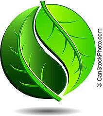 verde, ícone