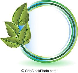 verde, conceito, ecologia