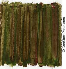 verde, lona, abstratos, marrom, vermelho