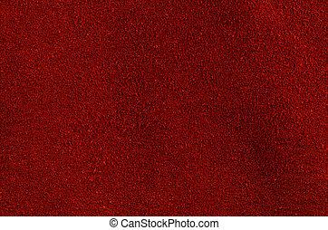 vermelho, couro