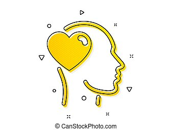 vetorial, amor, amigo, assistência, icon., amizade, sinal., business.