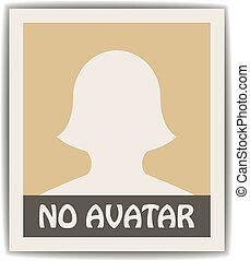 vetorial, avatar, femininas