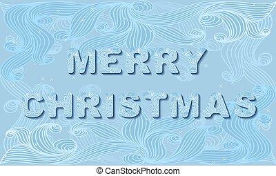 vetorial, card., convite, natal