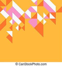 vetorial, coloridos, padrão, ilustração, criativo, fundo, geomã©´ricas