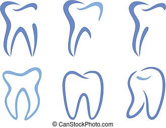 vetorial, dentes