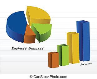 vetorial, gráficos, negócio, /