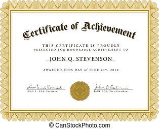 vetorial, guilloche, certificado