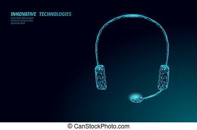 vetorial, information., hotline., ilustração, trabalho, serviço, online, helpdesk, cliente, ajuda, assistência, consultor, centro chamada, technology., telemarketing, headset, concept., ai, gerente, 3d, fone, cliente, apoio