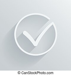 vetorial, jogo, pretas, confirmar, ícones