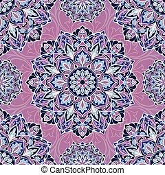 vetorial, pattern., lilás