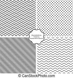 vetorial, patterns., seamless, cobrança