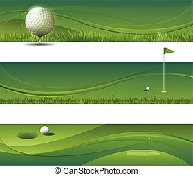 vetorial, waving, fundo, golfe, abstratos