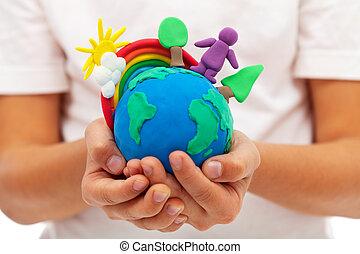vida, conceito, -, meio ambiente, ecologia, terra