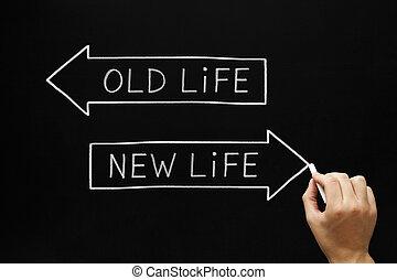 vida nova, antigas, ou