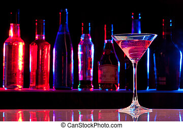 vidro, bebida, barzinhos, coquetel
