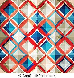 vidro, seamless, mosaico, padrão