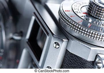 viewfinder, antigas, câmera.