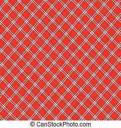 vindima, branca, toalha de mesa, vermelho