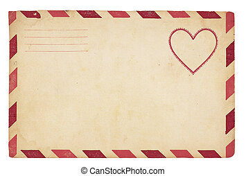 vindima, envelope, valentine