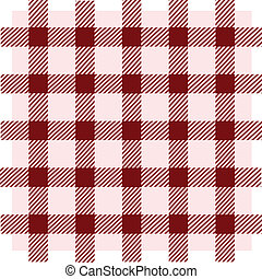 vindima, quadrado, seamless, vermelho, padrão