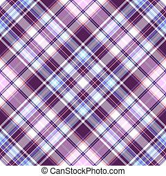 violet-blue, padrão, diagonal, suave, tartan, repetindo