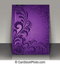 voador, violeta