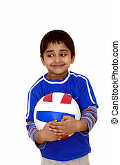 voleibol, criança
