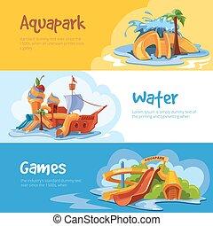 waterslides, aquapark