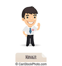 waving, gerente