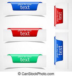 (web), borda, adesivos, página