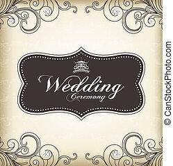 (wedding, vindima, quadro, ceremony)