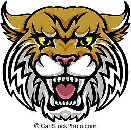 wildcat, mascote, bobcat