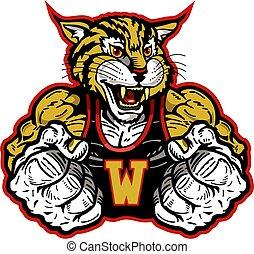 wildcat, mascote