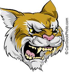 wildcat, personagem, mascote
