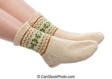 woolen, meias