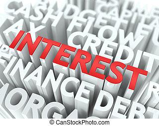 wordcloud, concept., interest.