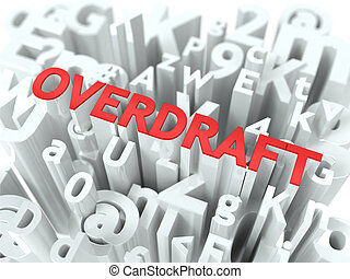 wordcloud, concept., overdraft.