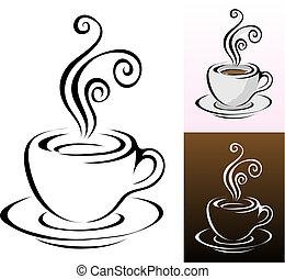 xícaras café